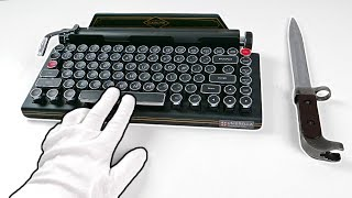 "$900 Resident Evil 2 Premium Edition ""TYPEWRITER"" Unboxing (SOLD OUT) Biohazard 2 RE:2 Z Version"