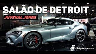 Um passeio pelo Salão de Detroit 2019 com Juvenal Jorge