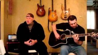 "Sintertwitch - Hoobastank ""Running Away"" Acoustic (Vocals + Guitar Cover)"