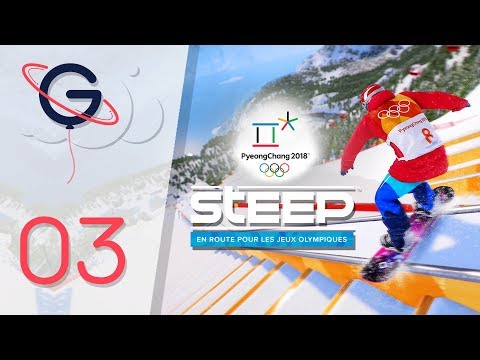 STEEP : ROAD TO THE OLYMPICS FR #3 - Le Slopestyle !