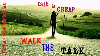 Talk is Cheap  Something to Think About.