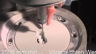 Mecanizado dental de circonia - zirconio, titanio, Cromo Cobalto CrCo, PMMA - Polimetilmetracrilato