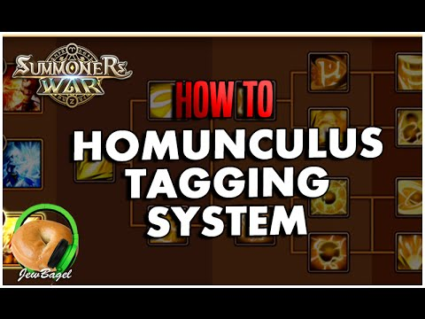SUMMONERS WAR : Homunculus Tagging System (How to Describe your Homunculus)