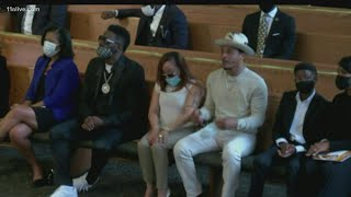 Rayshard Brooks Funeral | Rep. John Lewis, Mayor Bottoms, Tyler Perry, rapper TI recognized