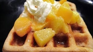 Eggless Whole Wheat Waffle