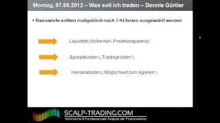 Video Thumbnail: 2: Basiswerte – Was soll ich eigentlich traden? (14:45)