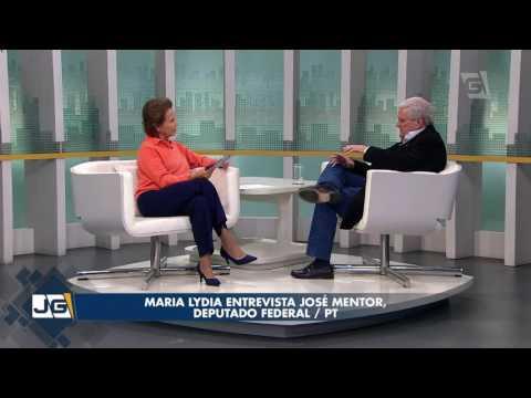 Maria Lydia entrevista José Mentor, deputado federal/PT