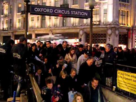 Rush Hour Oxford Circus