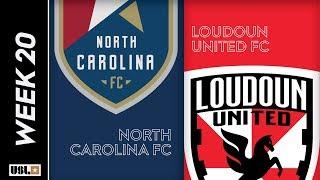 North Carolina FC vs. Loudoun United FC: July 17th, 2019