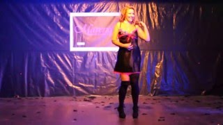 Sexy Burlesque performance- Maverique Events Charity Ball