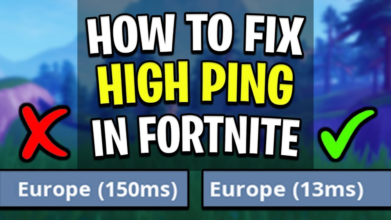 how to reduce ping fortnite - news, gameplay, guides, reviews and