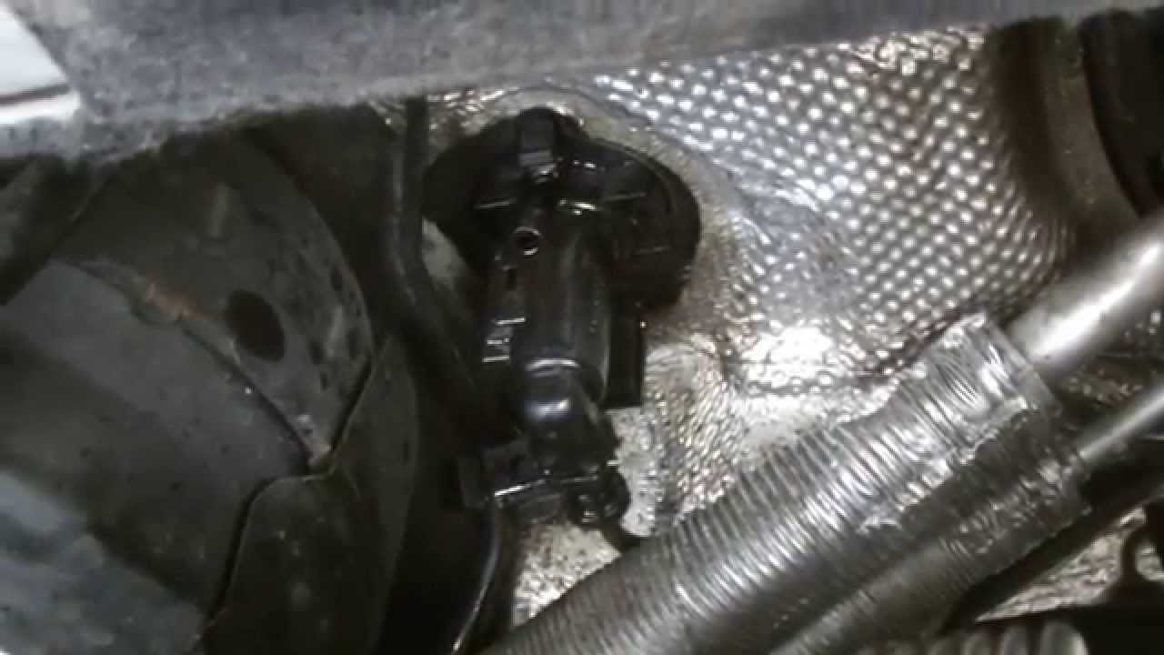 Vw Passat Clutch Master Cylinder Replacment Youtube