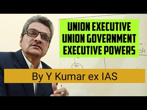Indian Polity  Union Executive Ministers extent of executive powers of Union