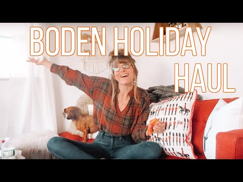 Boden Holiday Haul!