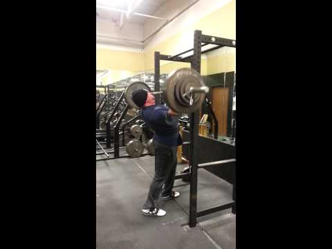 Chad Dresden Strict Press 300lbs for 6