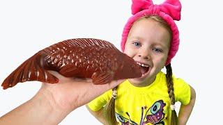 Милли и игра в сладости и шоколад