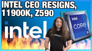 Intel CEO Resigns, B560 RAM Unlocked, 11900K Specs, & Chipset Differences (B560, H570, Z590)