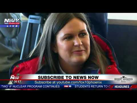 INTERNATIONAL NEWSER: Sarah Sanders holds newser at Winter Olympics in PyeongChang (FNN)