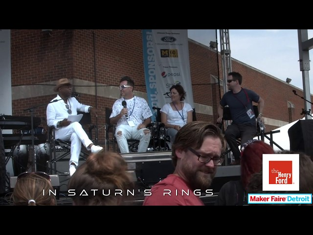 LeVar Burton & In Saturn's Rings team at The Henry Ford for Makerfaire