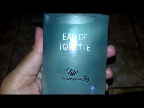 Unboxing EAU DE TOILETTE Garuda Indonesia Original Review di Deskripsi