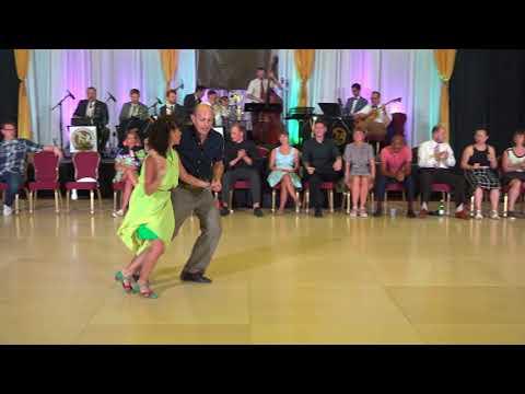 ILHC 2018 - Invitational Lindy Hop Draw - Nick Williams & Evita Arce