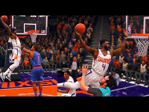 NBA LIVE 18 THE ONE - BEST DUNKER IN NBA HISTORY!!