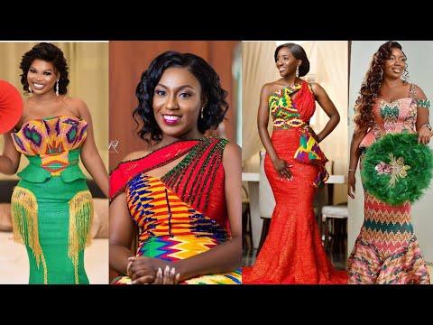Latest 2020#Ghana Wedding Dresses Vol.3# Kente Ankara Trendy Styles: African Fashion