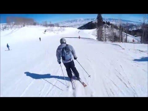 Skiing, Park City Utah, February 2016