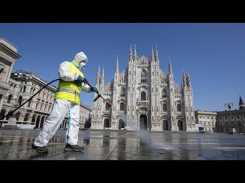 La pandemia de coronavirus causa casi 14.000 muertes en Italia