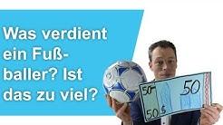 Was VERDIENT EIN FUSSBALLER? Ist das ZU VIEL? Messi, Ronaldo, Bundesliga, Fußballprofi werden