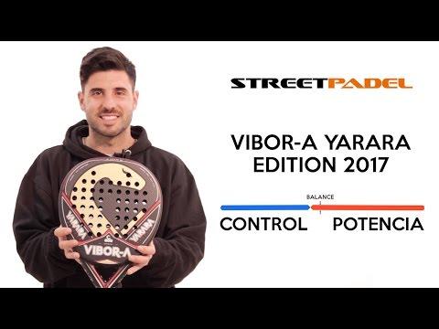 Análisis en pista pala de pádel Vibora Yarara Edition 2017