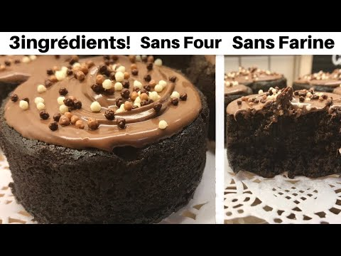 cake-au-chocolat-3-ingrédients-à-la-poêle-🍳-sans-farine👌!-💯-réussie-/3-ingredients-chocolate-cake