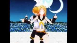 [MMD] kagamine family-we no speak americano (edit+motion data)