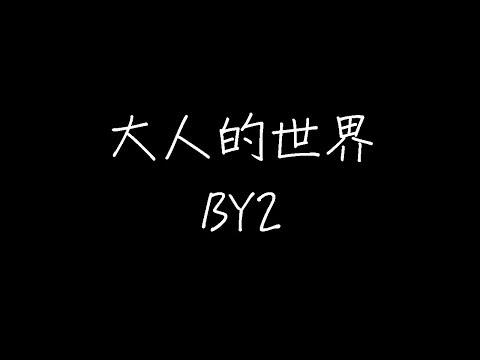 By2 大人的世界 动态歌词