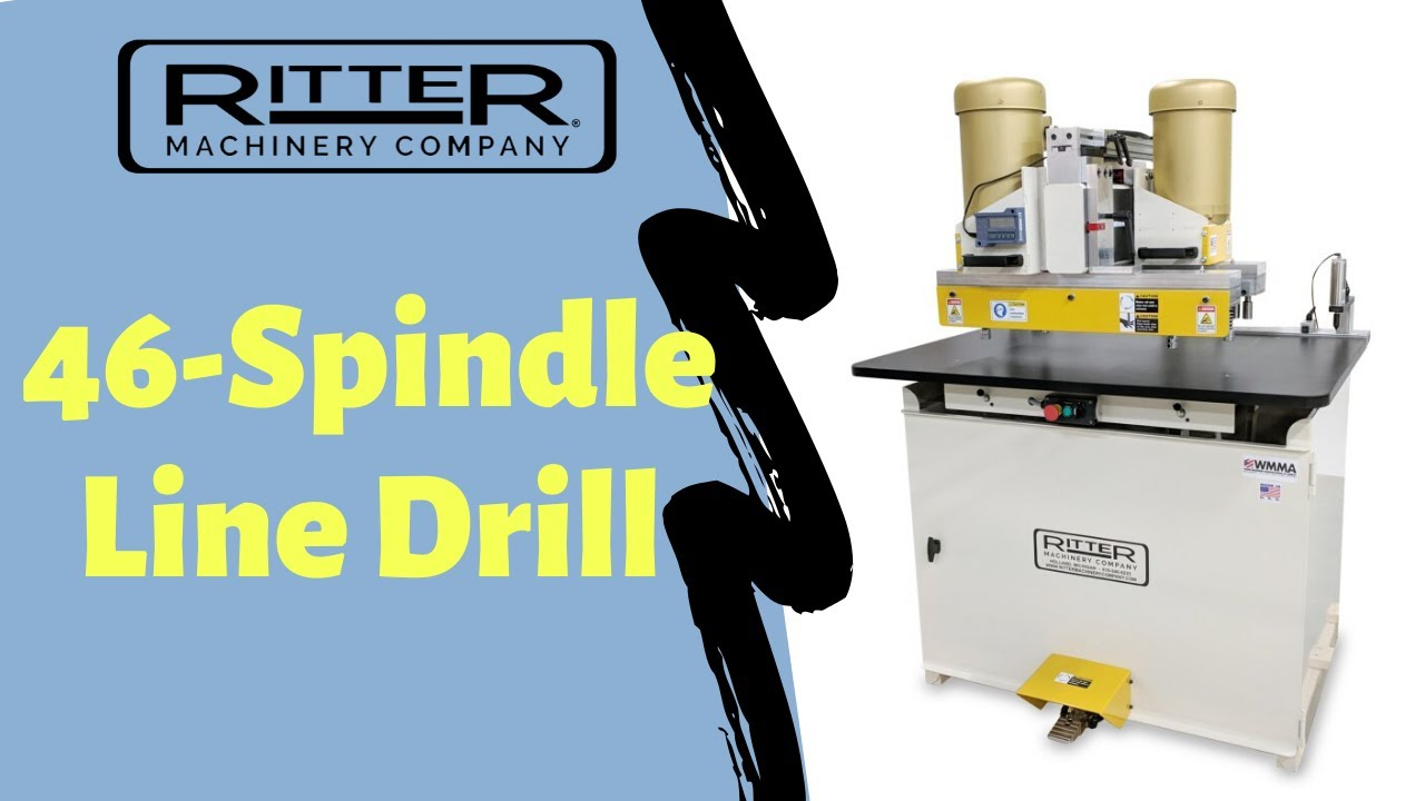 R46 46 Spindle Double Row System Drill Ritter Machinery Co