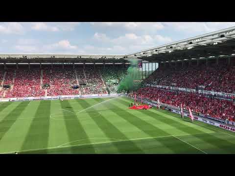 1. FSV Mainz 05 - Werder Bremen Pyro vor dem Spiel