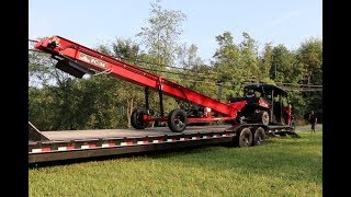 #508 Taking Delivery of Wolfe Ridge Firewood Conveyor, First Look