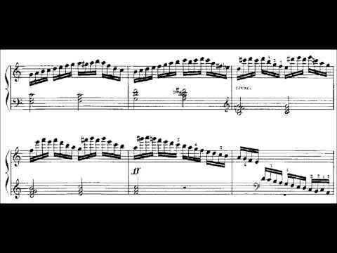 Moritz Moszkowski - Etude Op. 72 No. 5 (audio + sheet music)