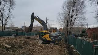 Video still for Taylor Excavating Chooses Volvo for Stanley's Demolition