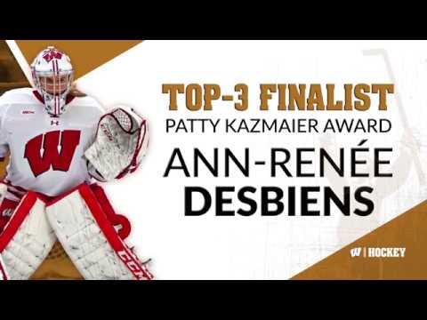 Ann-Renée Desbiens - Patty Kazmaier Memorial Award Finalist