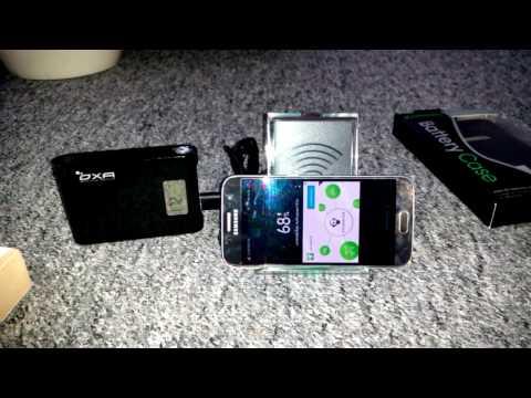 Samsung Galaxy S 7 kabellos drahtlos aufladen Handys drahtlos aufladen QI Standard
