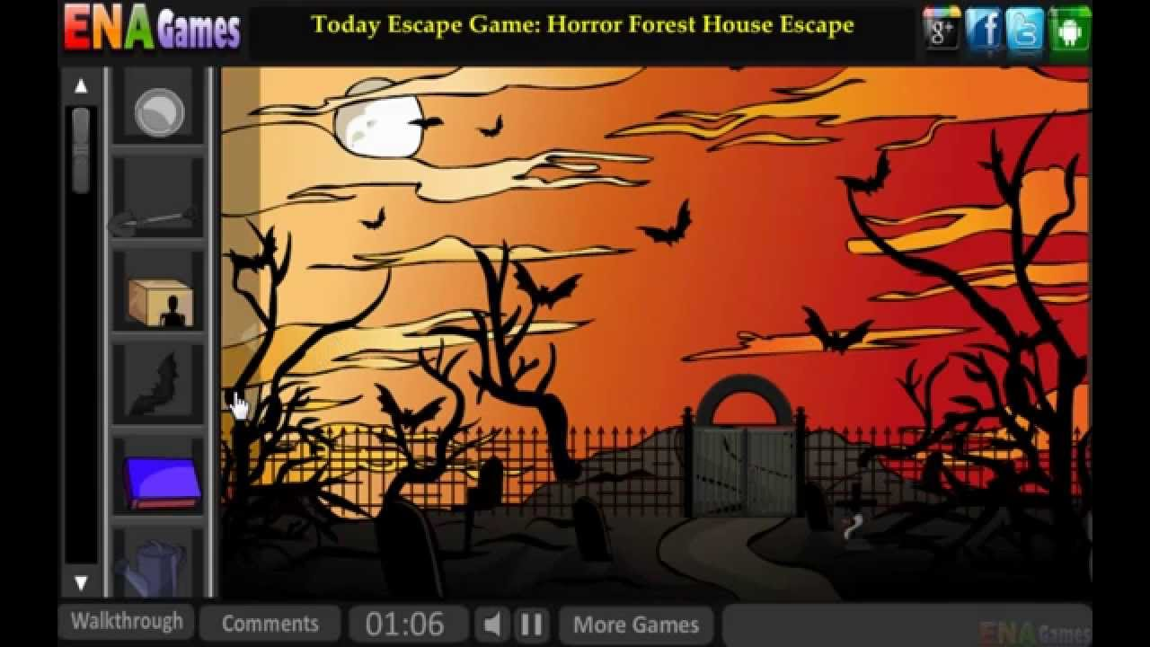Halloween Graveyard Escape Walkthrough Youtube