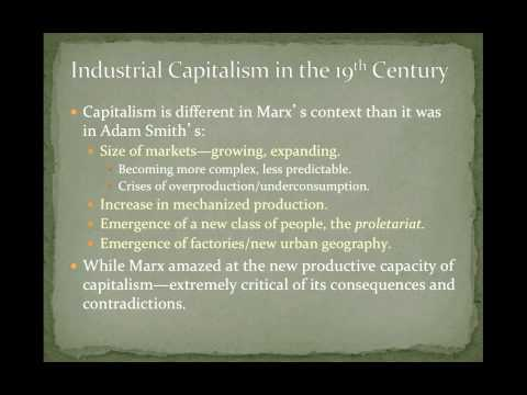 POS 201: Lecture 8-Marx & Engels, Critiquing Capitalism & a Program For Socialist Revolution