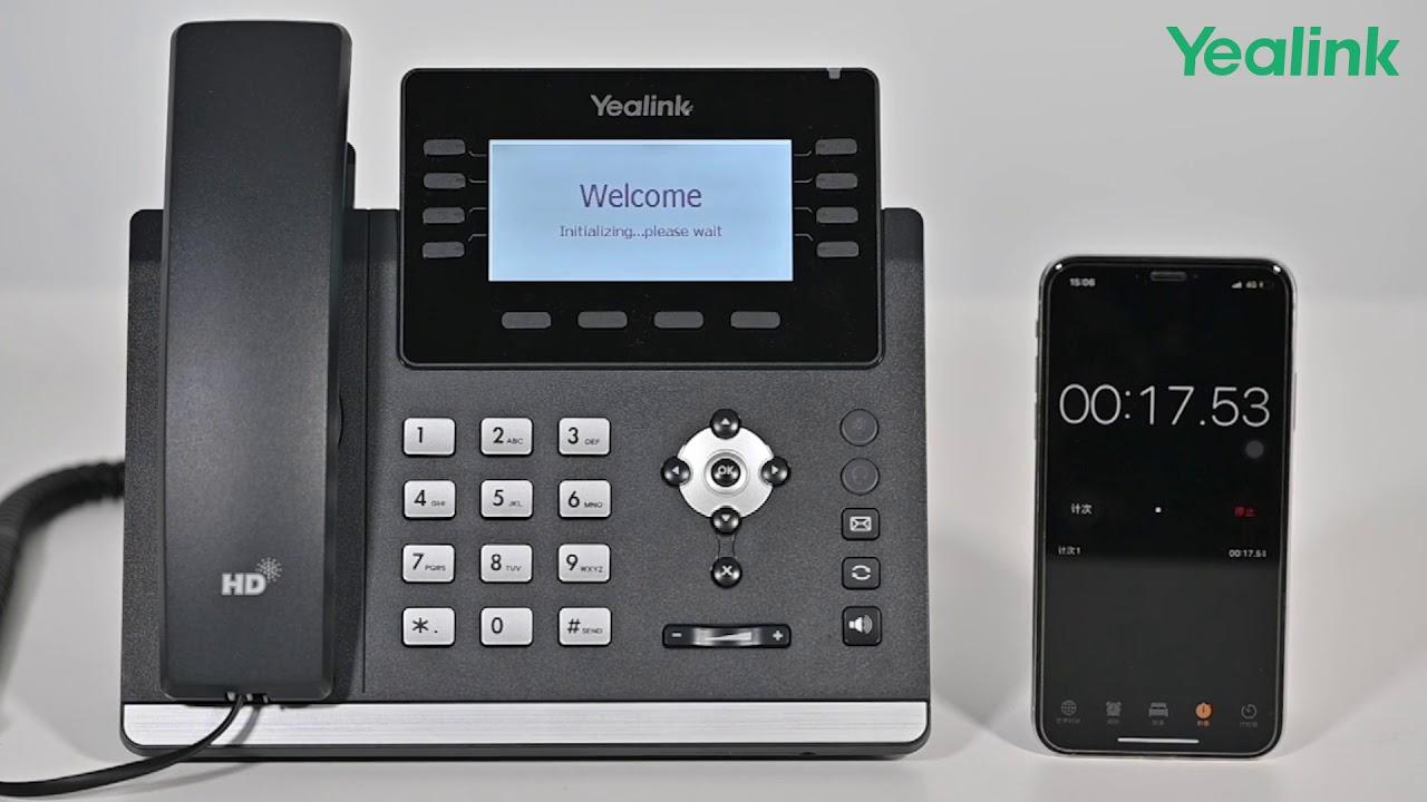 Yealink T4U Series of IP Phones Video