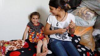 Родители христиане нашли 6 летнюю дочь, похищенную ИГИЛовцами
