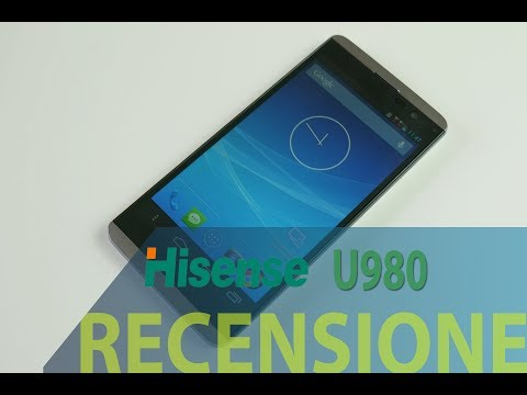 HiSense U980, recensione in italiano