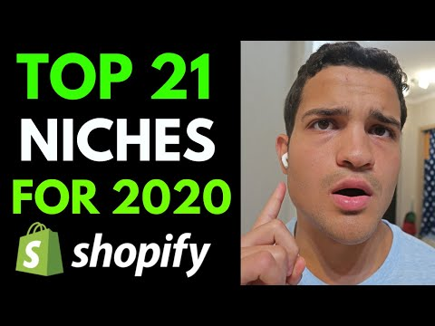 TOP 21 DROPSHIPPING NICHES IN 2020 | Shopify Dropshipping thumbnail