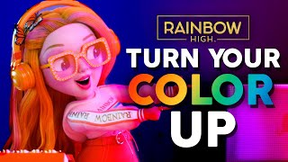 Download Turn Your Color Up! 🌈    OFFICIAL Lyric Music Video   Rainbow High