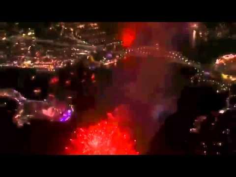 Sydney Midnight Fireworks New Years Eve Fireworks 2015 Full Show -