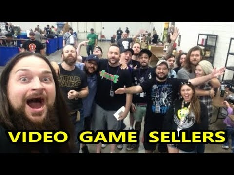 VIDEO GAME SELLERS EP. 136 - RETROPALOOZA DALLAS 2017 | Scottsquatch